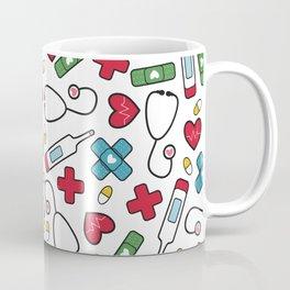 Cute Nurse Pattern Coffee Mug