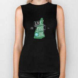 Live Free or Die Biker Tank