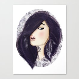 Dark Canvas Print