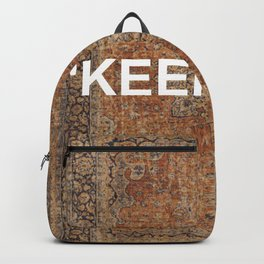 KEEP OFF - antique persian rug Backpack
