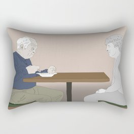 The loss of a soulmate Rectangular Pillow