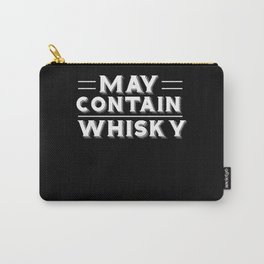 May Contain Whisky Drinking Carry-All Pouch