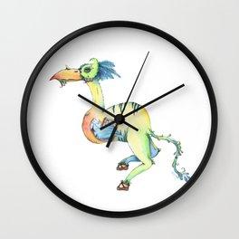 Busy Birdel Wall Clock