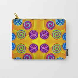 Colorful soft twirls by wool Carry-All Pouch