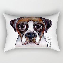 Jake The Boxer Rectangular Pillow