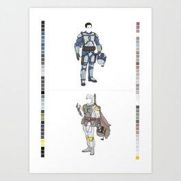 Bounty Fashion Art Print