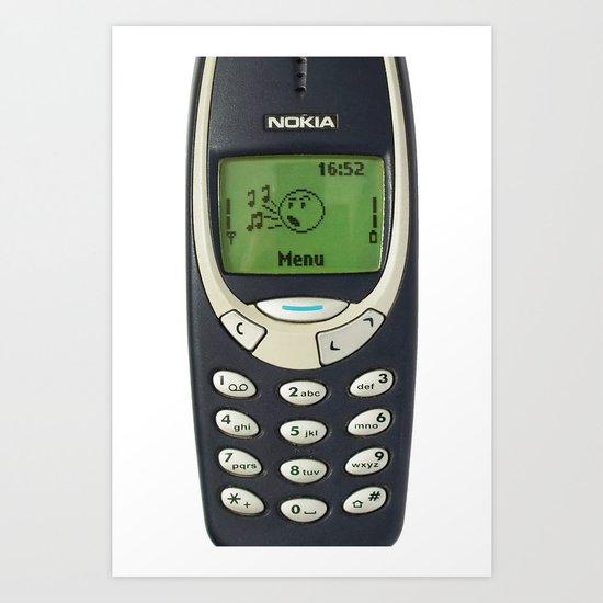 REMEMBER THIS PHONE Art Print