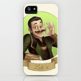Loki'd iPhone Case