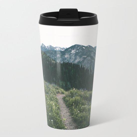 Happy Trails III Metal Travel Mug