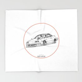 Crazy Car Art 0193 Throw Blanket