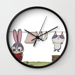 Grow them Wall Clock