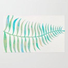 Palm Leaf – Sea Foam Palette Rug
