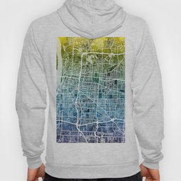Memphis Tennessee City Map Hoody