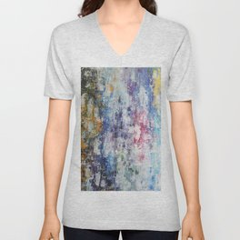 Abstract 193 Unisex V-Neck