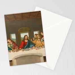 The Last Supper By Leonardo Da Vinci Stationery Cards