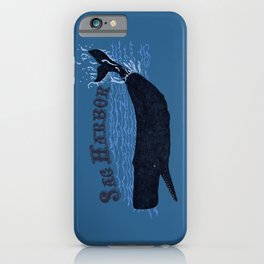 Sag Harbor Whale iPhone Case