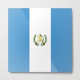 Guatemala flag Metal Print