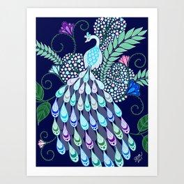 Moonlark Garden Art Print