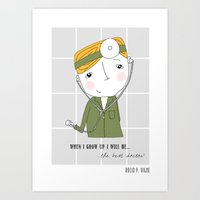 doctor Art Prints featuring Doctor by Rocio P. Vigne