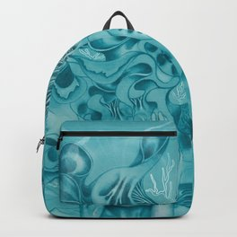Woman Imagination Mind Dream Backpack