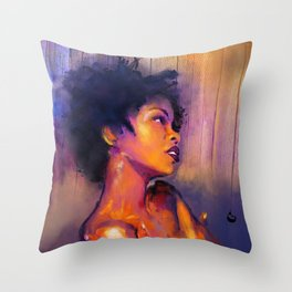 MsEducated Throw Pillow