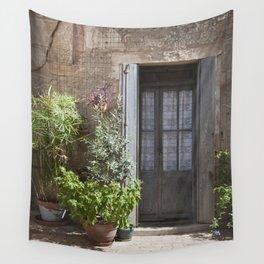 Mediterranean Entrance Wall Tapestry