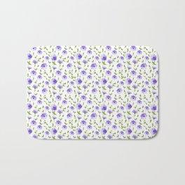 Chicory pattern. Bath Mat