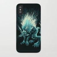 werewolf iPhone & iPod Cases featuring Werewolf. by Danilo Sanino