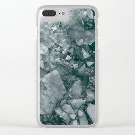 Frozen Puzzle Clear iPhone Case