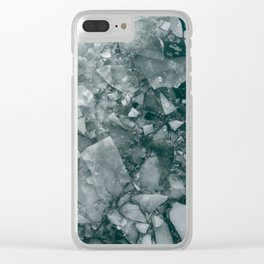 Frozen Puzzle Clear iPhone Case