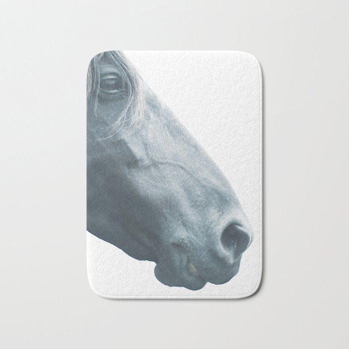 Horse head - fine art print n° 2, nature love, animal lovers, wall decoration, interior design, home Bath Mat