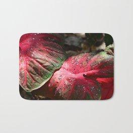 Tropical Rain - Botanical Art by Sharon Cummings Bath Mat