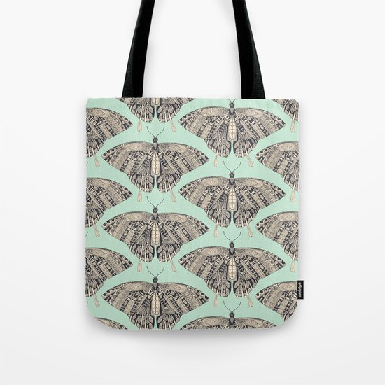swallowtail butterfly mint basalt Tote Bag