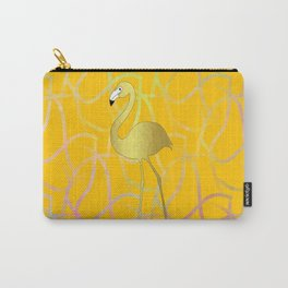 Twist And Turn Flamingo Carry-All Pouch