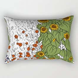 The Great Prairie Rectangular Pillow