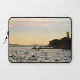Sunset Swim Laptop Sleeve