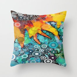 :: Bit O' Sunshine :: Throw Pillow
