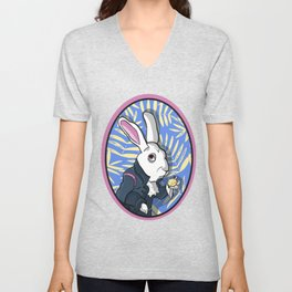 White Rabbit Unisex V-Neck