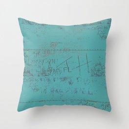 Bridgetown Lovers Throw Pillow