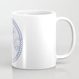 From below white rope Coffee Mug