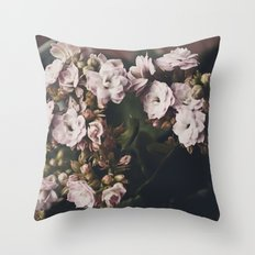 Angel Flowers  Throw Pillow