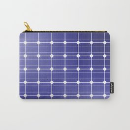 In charge / 3D render of solar panel texture Carry-All Pouch