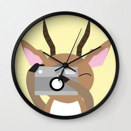 Impala - Photography Wall Clock