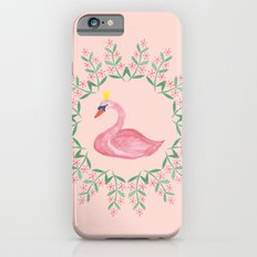 By the lake - swan Slim Case iPhone 6s