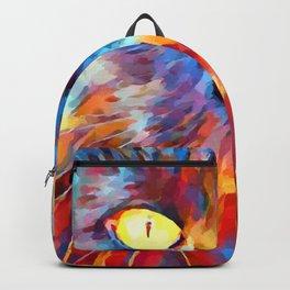 Cat Watercolor Backpack
