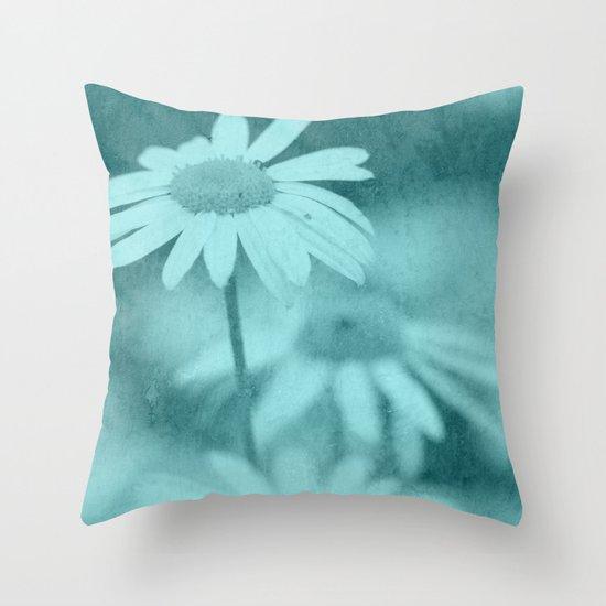 Floral art image Throw Pillow