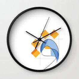 Arabic WAW Wall Clock