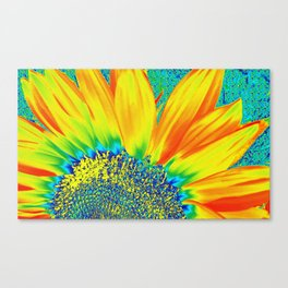 Sunflower Party Canvas Print