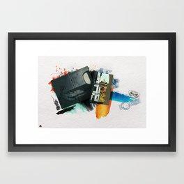 İstanbul :) Framed Art Print