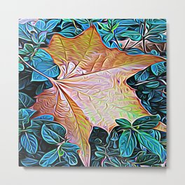 Leaf of Glory Metal Print